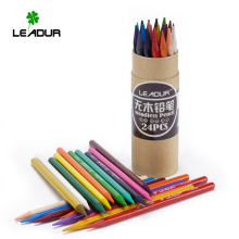 Eco friendly paper tube packed prismacolor color pencils