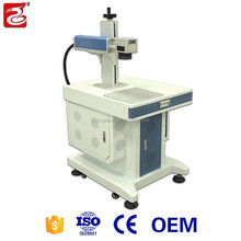 Hot selling cheap desktop mini fiber laser marking machine for anminal ear tags plastic