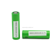 Original 18650 VTC5 2600mAh 3.7V li-ion rechargeable battery US18650VTC5 2600mAh li-ion battery use for power tools