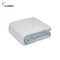 Wholesale Cheap Soft Flannel Fleece Travel Blanket In Bulk For Airplane