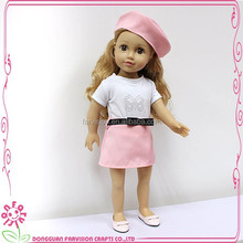 Children Dolls black doll oem Funny Girl