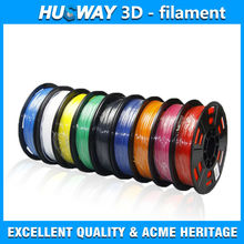 1.75 mm ABS and PLA 3D Printer Filament 2.2lbs spool for 3D printing materials