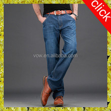 100% pure cotton jeans,wholesale high quality large size men's jeans