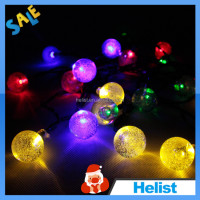 DC24V solar christmas led garland string light