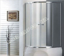 3-19mm Bathroom Door with Toughened Glass