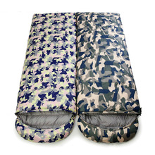 Wholesale New Winter Outdoor Envelope Ultralight Sleeping Bag for Hiking
