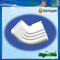 Happiness White pvc down pipe clip china manufacturer roofing using Rain Carrying System