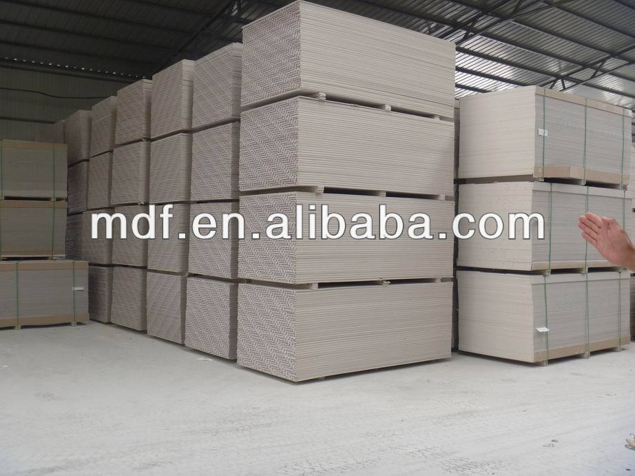 pvc gypsum ceiling tile/durable moistureproof gypsum board/glass fiber reinforced gypsum board