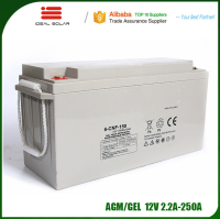 Ideal New Energy AGM GEL Lead acid deep cycle storage 10v 12v 24v 36v 17ah 38ah 200ah 230ah 250ah 300ah battery pack
