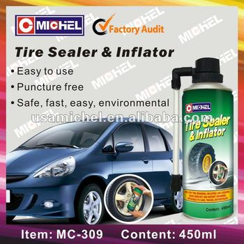One Step Tyre Sealant, Tyre Puncture Free Sealant, Tyre Repair Spray
