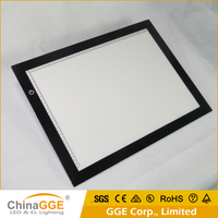 CE RoHs FCC A2 Slim Stencil Board Art Drawing LED Light Box Pad LED Tracing Table