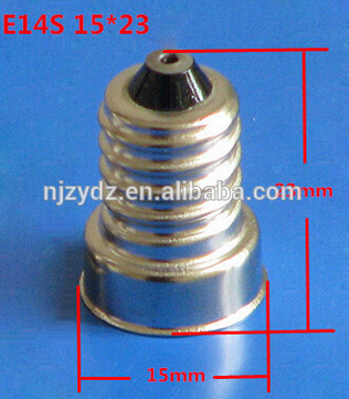 Screw E14 metal iron lampholder Vintage Edison bulb lamp socket / light base E14