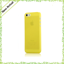ultra thin matting cover pure color frosted cell phone case for iphone 5