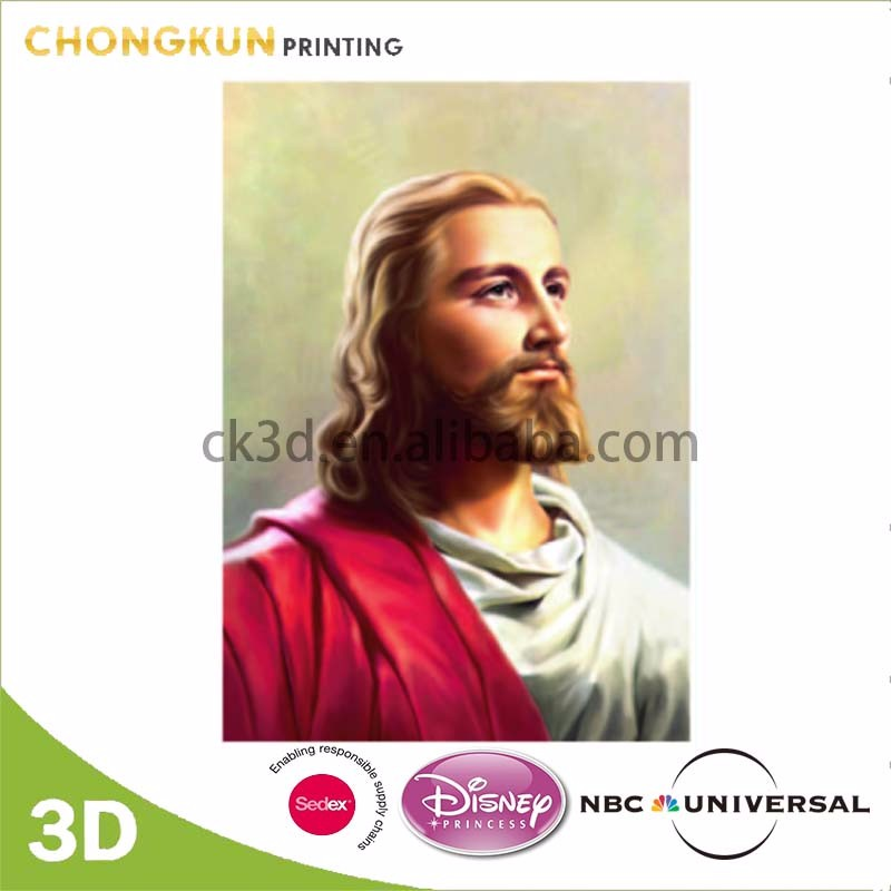 Disney Audited Factory 3d pictures of jesus