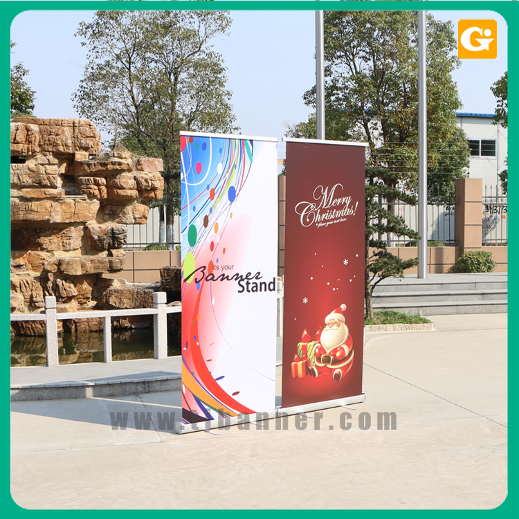 Magnetic Pop Up Floor Stand Roll Up Display Banner Stands