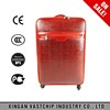 "PU leather soft side travel bags 20"" 24"" 28"" 3pcs trolley luggage sets"