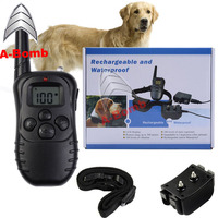 330 Yards Pet Remote Training E-Collar Rechargeable and Waterproof 1 Pet Dog Training Collar
