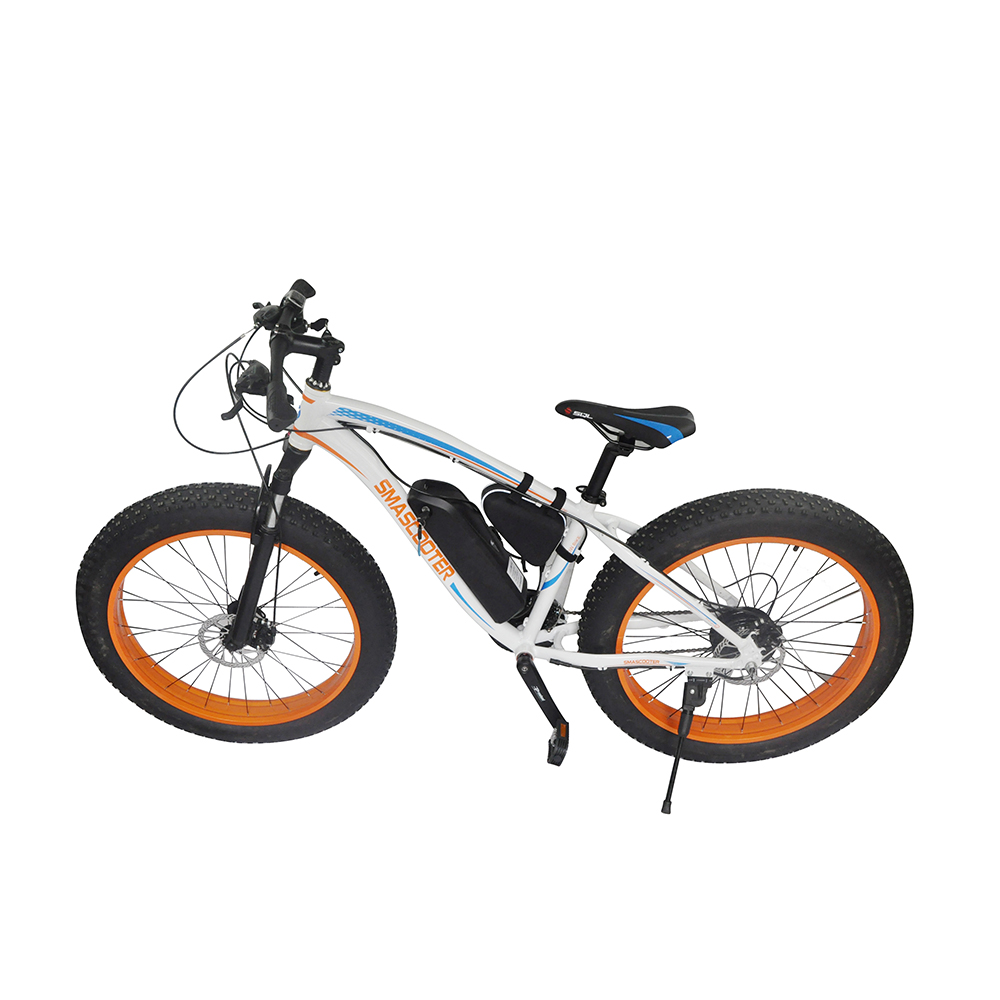 Unisex EcoRider E6-5 <strong>Electric</strong> Off Road Bike <strong>Electric</strong> Chariot 350W 48V Off Road Bicycle Snow e-Bike Free Postage