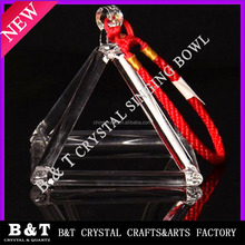 2015 new style natural Quartz Crystal Singing Pyramide BNTSQ 062