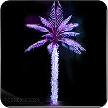 H:4.5m 3660 pcs christmas led tree lights outdoor use palm tree