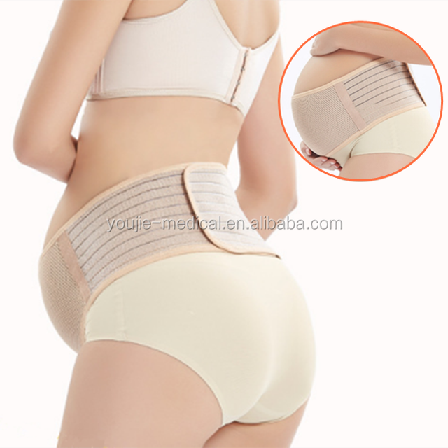 Hot sale free sample health pregnancy care sandwich soft abdomen support maternity belt for pregnant women