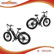 Reliable quality 26 inch 48V 500W fat tire bicycles electric bike