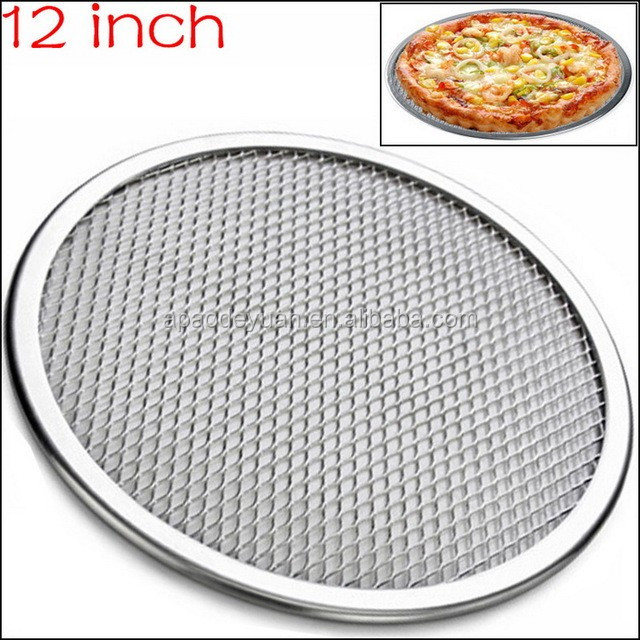Competitive price Stainless steel pizza screen / pizza mesh pan