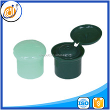 24/415 champignon shape flip top plastic shampoo bottle caps for baby shampoo bottle
