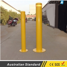 Superior Quality low price steel automatic hydraulic rising Used removable bollard/Protective fixed parking bollard