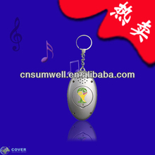 Customzied High quality sound key chain for promotional gift