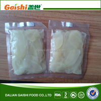 Pickled Sushi Ginger 1kg/20 pounds/all package