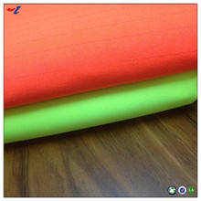Cheap price Woven Polyester Fluorescent green fabric for unifom