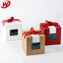 Wholesale Custom Make Colorful Printed Cardboard Packing Box Gift Boxes With Window