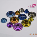 CNC Machining valve spring retainer for racing car