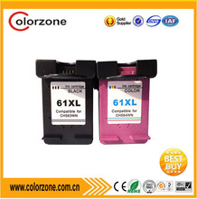 Factory wholesale price compatible ink cartridge hp 61 xl for deskjet 1050 2050 2540 3510 2510 3050