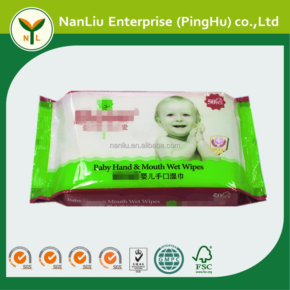Baby organic finger teeth wet wipes 80P