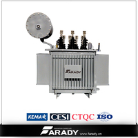 3 phase high voltage step up 200kva power electrical transformer