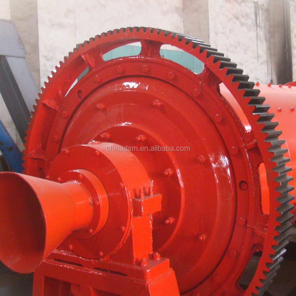 Mining Steel Ball Grinding Mill with CAD Drawing