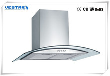 Best seller new design circular island hood from vestar
