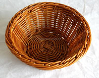 Plastic wicker Basket