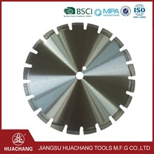 HUACHANG 2017 big size diamond concrete cutting disc with low price