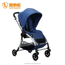 Foldable baby strollers to carry carriage producing high end 3 in 1 buggy with new design pushchair w/ big wheels swivel wheels