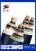 33kv xlpe single core aluminum conductor armour / armoured power cables
