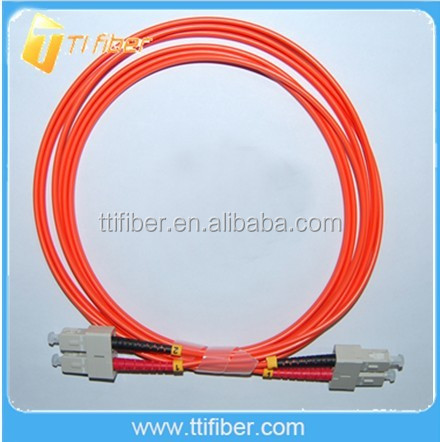SC-SC MM 50/125 Duplex 2.0MM 2M Fiber Optic Patch Cord