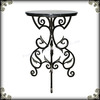On sale retro home decoration metal material Flower standing