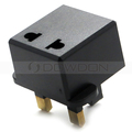 Adapter Converter AC 250V 125V 6A European British Power Cord UK EU Plug