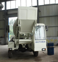 Cheap price good quality concrete mixer truck with pump and weight system