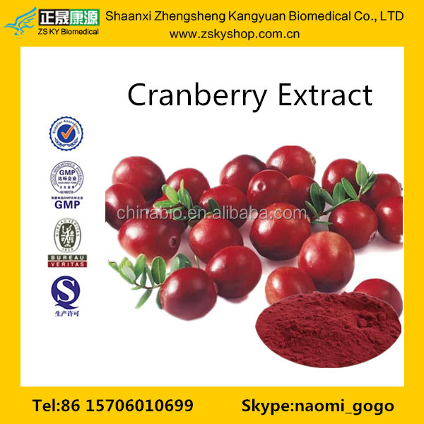 GMP Certified Manufacturer Supply Natural Cranberry Extract