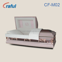 casket mother/pink casket/funeral equipment