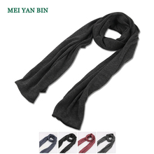 EZW wholesale scarves plain soft comfy winter warm long cotton scarf shawl